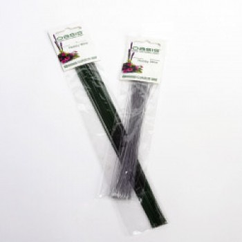 Hobby Wire - Green Lacquered Wire - 10 x 22 Gauge x 25g