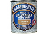 Direct To Galvanised Metal Paint 750ml - Copper