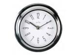 Riva Wall Clock Chrome - Chrome