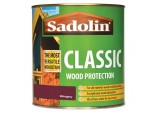 Classic All Purpose Woodstain 1Ltr - Redwood