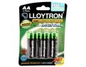 Rechargeable AA Batteries - 4 pack