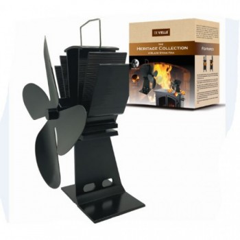 DeVielle Heritage Stove Fan 4 Blade