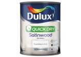 Quick Dry Satinwood 750ml - Pure Brilliant White