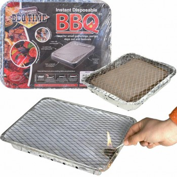 Disposable Charcoal BBQ