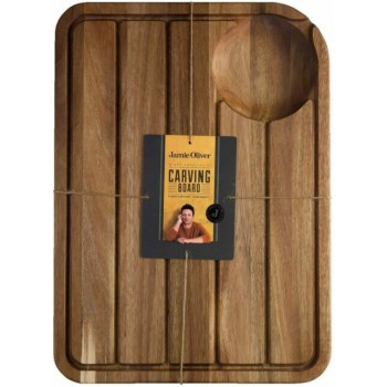 Acacia Carving Board with Juice Well