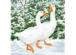 Geese Couple Napkins
