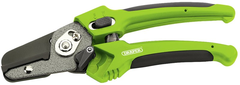 Soft Grip Anvil Pattern Secateurs (200mm)