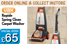 Rapide Spring Clean Carpet Washer – Now Only £65.00
