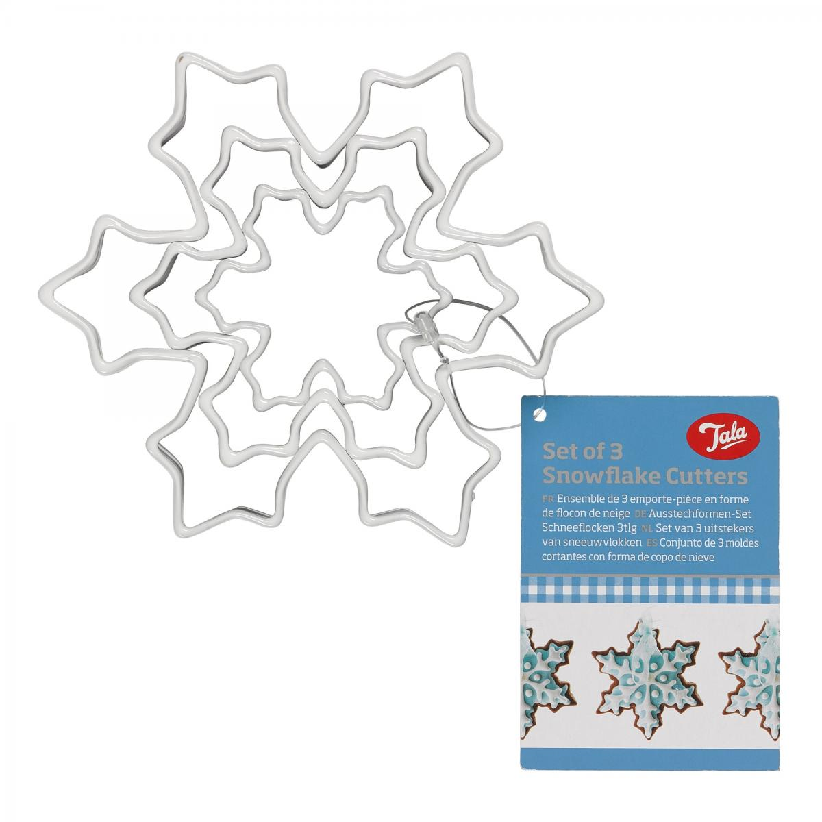 Set of Three Snowflake Cutters – Now Only £2.50