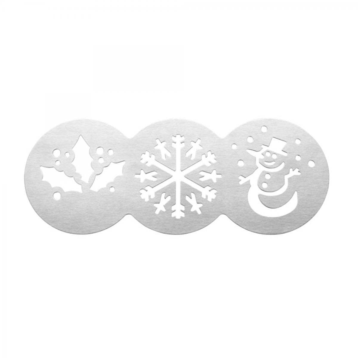 Christmas Cake Stencils - 3 designs – Now Only £2.00