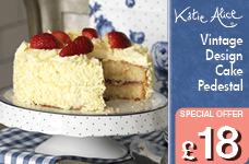 Vintage Indigo Cake Pedestal – Now Only £18.00