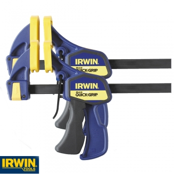 Quick Change Bar Clamps 150mm 6inch Twin Pack – Now Only £25.00