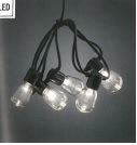 Lightset with 20 Clear Oval Bulbs -  – Now Only £25.00