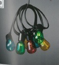 Lightset with 20 Clear Oval Bulbs - Coloured LED Bulbs – Now Only £25.00