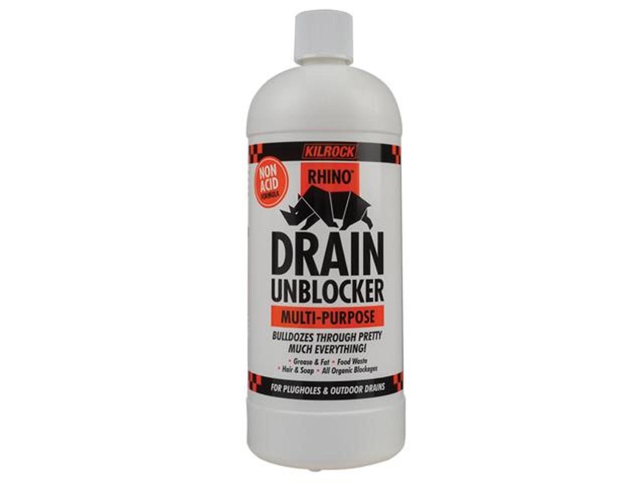 Rhino Multi-Purpose Drain Unblocker 1L – Now Only £7.00