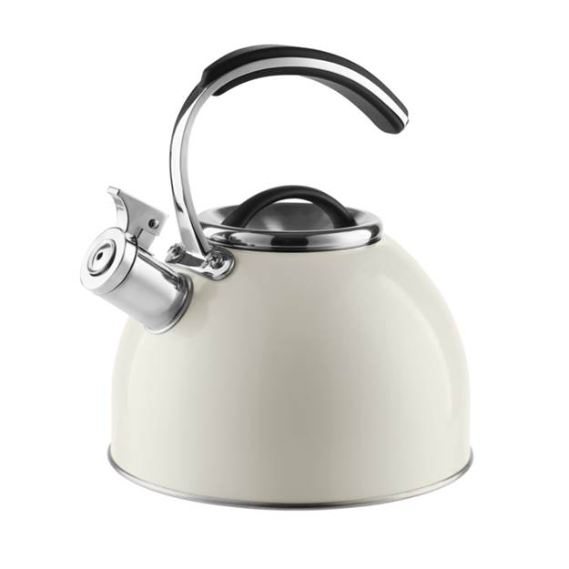 Accents 3 Litre Stove Top Whistling Kettle - Ivory Cream – Now Only £25.00
