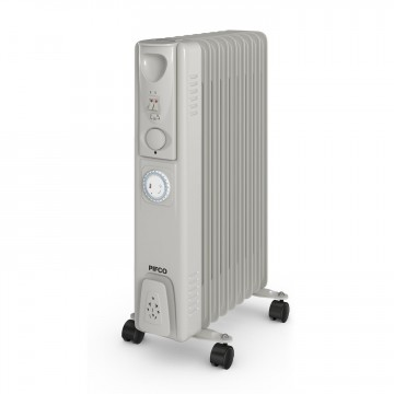 2000w Oil Filled Radiator with Timer – Now Only £45.00
