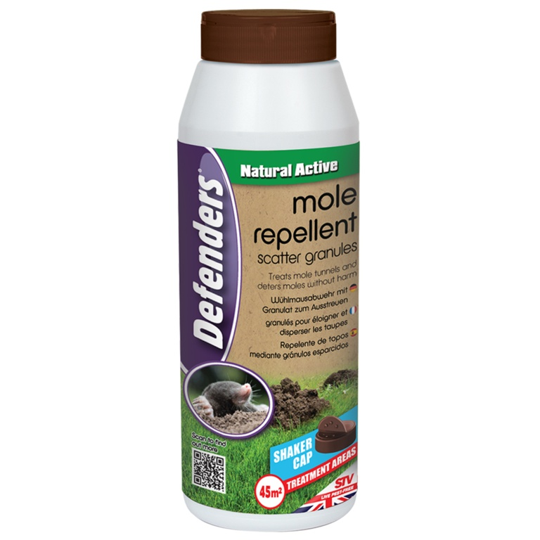 Mole Repellent Scatter Granules 450g – Now Only £5.00