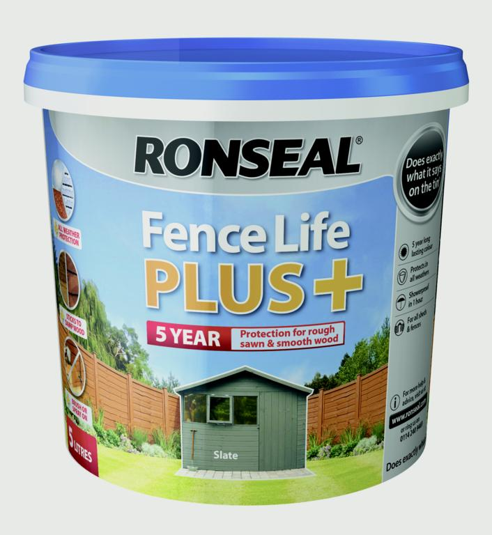 Fence Life Plus 5L  - Slate – Now Only £9.00