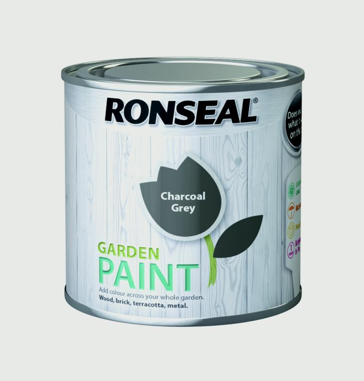 Garden Paint 250ml  - Charcoal Grey – Now Only £4.00
