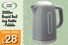 1.7L Jug Kettle - Pebble Colour – Now Only £28.00