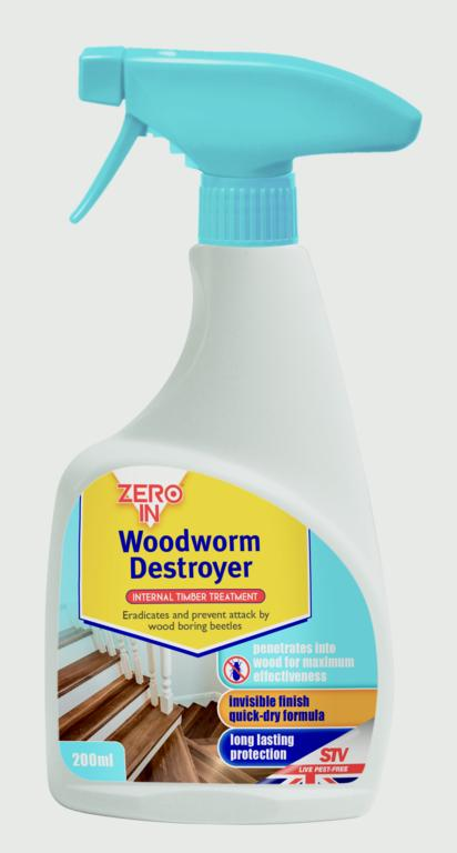 Woodworm Destroyer Spray 500ml – Now Only £6.00