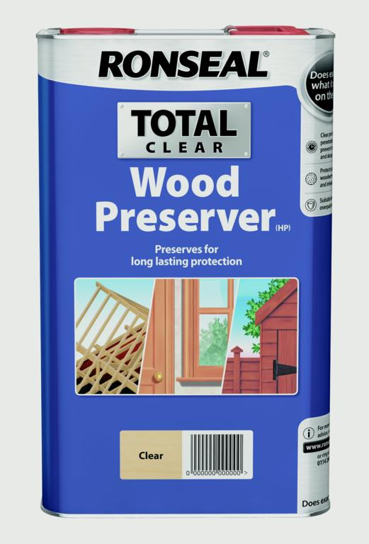 Total Wood Preserver 5L Clear – Now Only £25.00