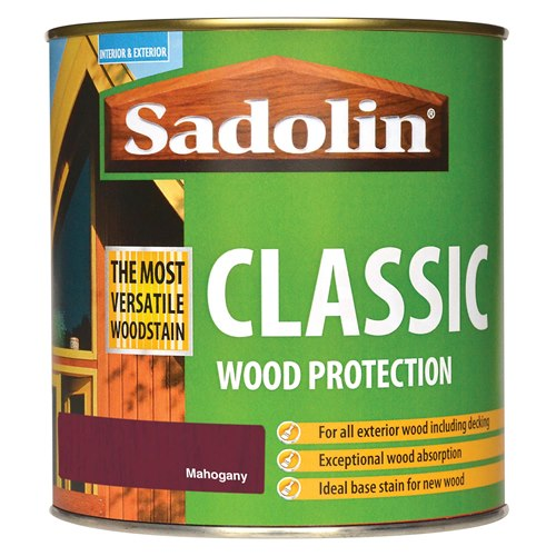 Classic All Purpose Woodstain 1Ltr - Redwood – Now Only £16.00
