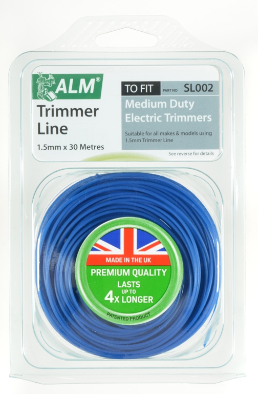 Trimmer Line - Blue 1.5mm x 30m – Now Only £4.00