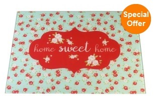 Toughened Glass Worktop Saver - Home Sweet Home – Now Only £4.00
