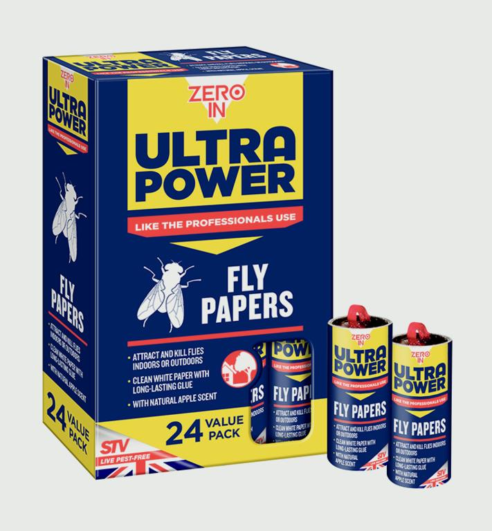 Ultra Power Fly Papers Pack 24 – Now Only £8.00