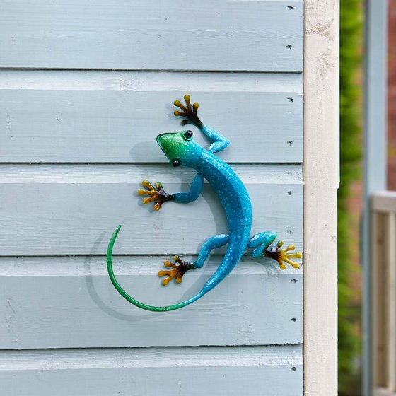 Decor Gecko - Azure - 26 x 23cm approx – Now Only £9.00
