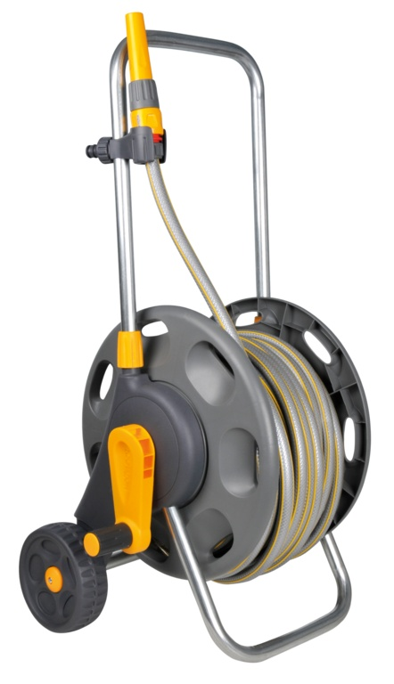 Assembled Hose Cart With 50m Hose & Fittings – Now Only £55.00