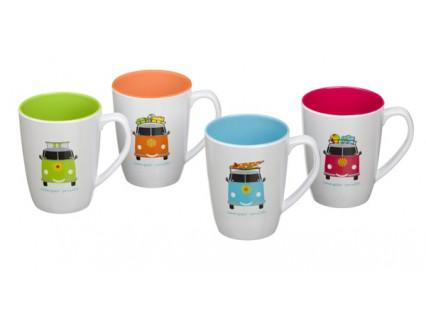 Camper Smiles Mug Set - Pack of 4 – Now Only £11.00