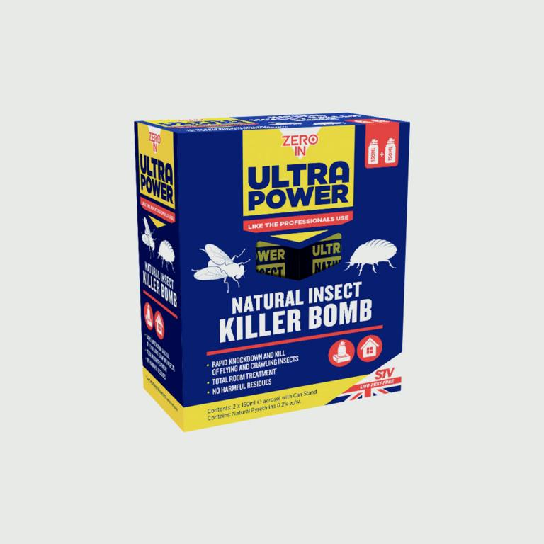 Ultra Power Natural Insect Killer Bomb Pack 2 – Now Only £9.00