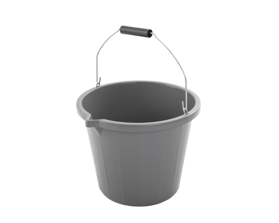 Wham® Bam Upcycled 15 Litre Bucket - Grey – Now Only £3.00