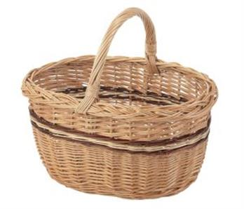 3 Tone Oval Hand Basket – Now Only £18.00