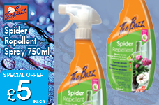 Spider Repellent Spray 750ml – Now Only £5.00