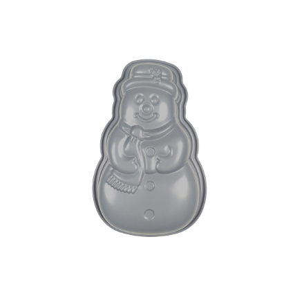 Yuletide Non-stick Snowman Cake Tin 600ml