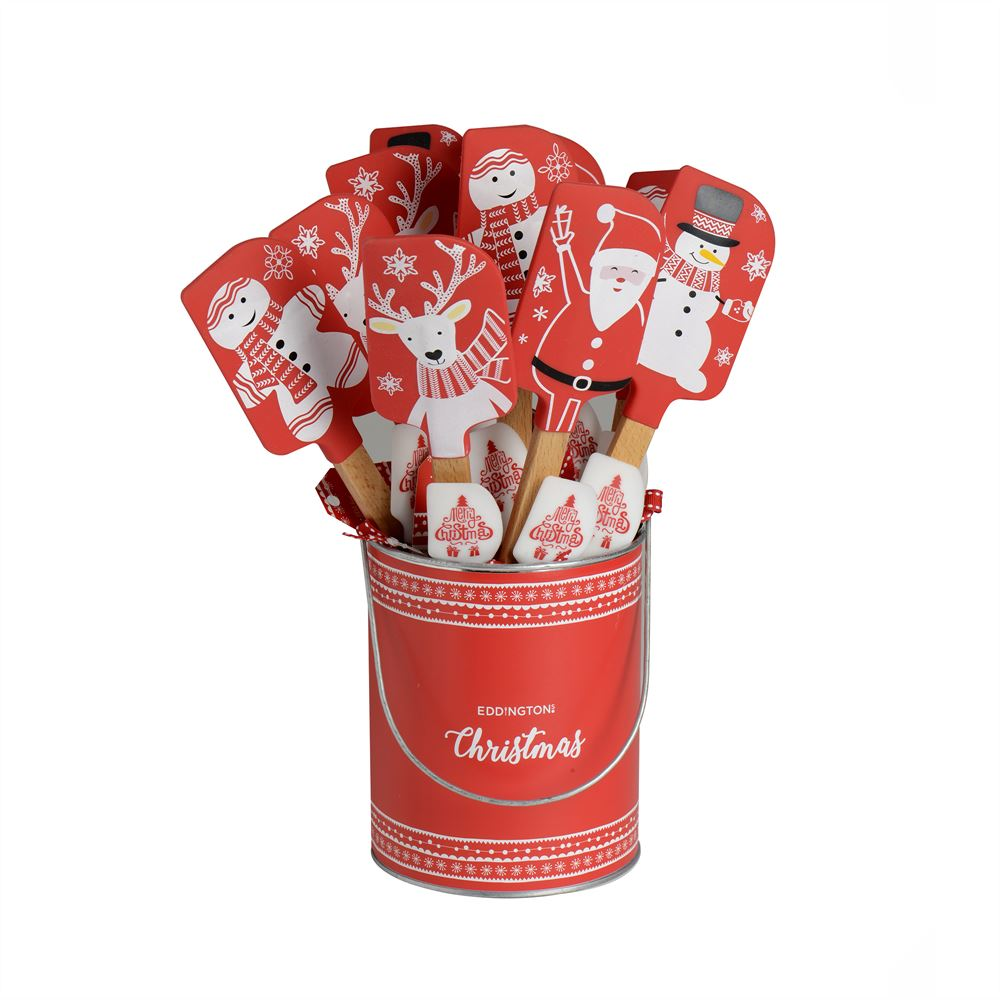 Novelty Christmas Spatula Set of 2 - Designs vary – Now Only £4.00