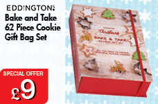Bake and Take 62 pc Cookie Gift Bag Set – Now Only £9.00