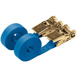 400kg Ratcheting Tie Down Strap Sets (4.5M x 25mm) (2 Piece) – Now Only £10.00