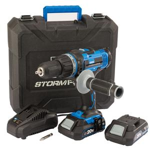 Storm Force® 20V Cordless Hammer Drill – Now Only £85.00