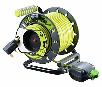 Pro-XT Reverse Open Reel High Visibility Cable - 25m – Now Only £32.00