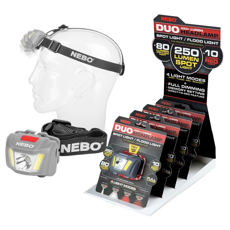NEBO Duo Headlamp – Now Only £14.00