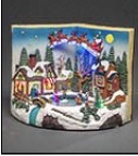 NEW Christmas Decoration. Book and Rotating Children – Now Only £30.00