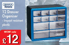12 Drawer Organiser  – Now Only £12.00
