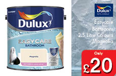 Easycare Bathroom 2.5 Litre Colours - Soft Sheen -  – Now Only £20.00