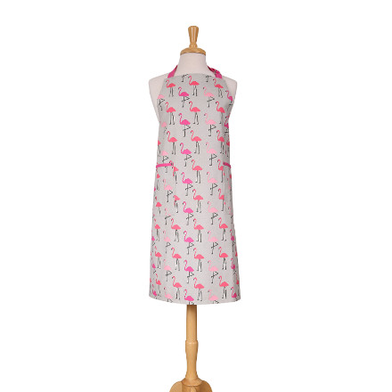 Flamingo Adult Apron Pink – Now Only £10.00