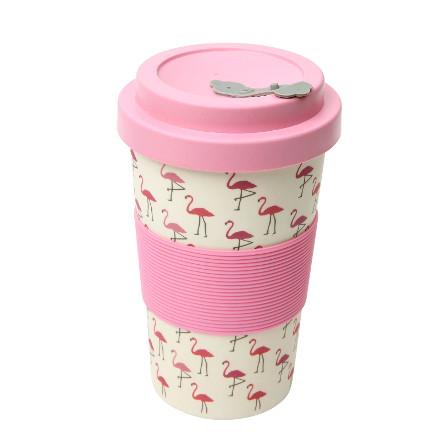 Flamingo BamBroo Drinks Mug  400ml  – Now Only £5.00